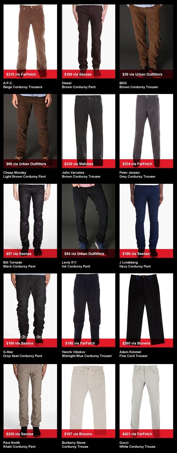 buyersguyed2 Corduroy Trousers   Buyers Guyed