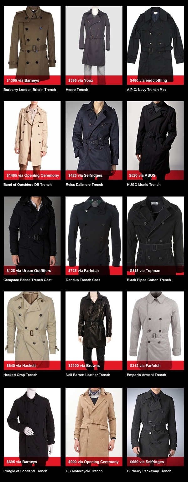 buyersguyed trenches Trench Coats   Buyers Guyed