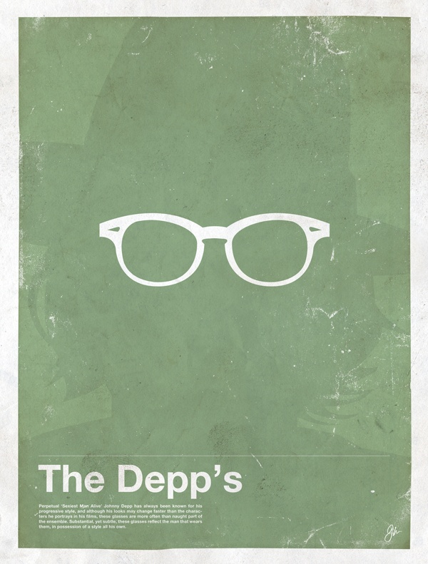 framework depp Framework – Eyewear Made Famous Posters
