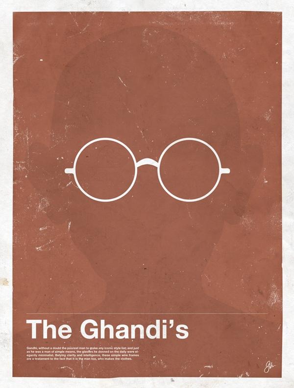 framework ghandi Framework – Eyewear Made Famous Posters
