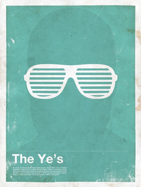 framework kanye Framework   Iconic Eyewear Posters