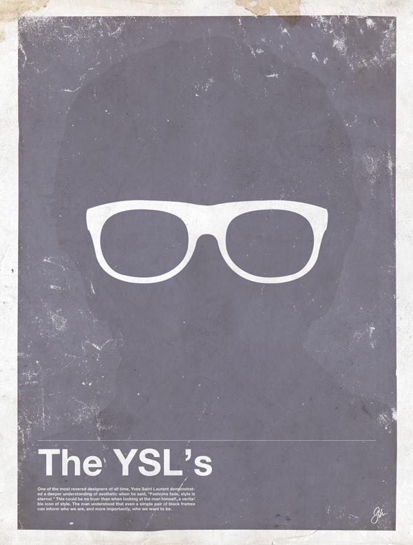 framework yves Framework – Eyewear Made Famous Posters