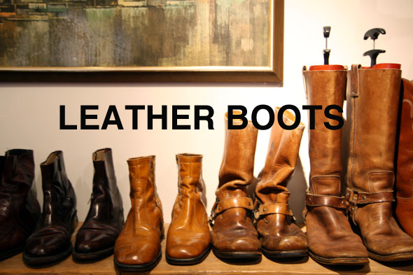 Buyers Guyed Boots Buyers Guyed: Leather Boots