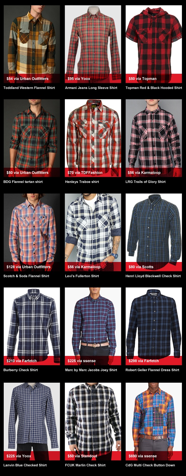 Buyers Guyed Flannel Shirts Buyer's Guyed: Flannel Shirts