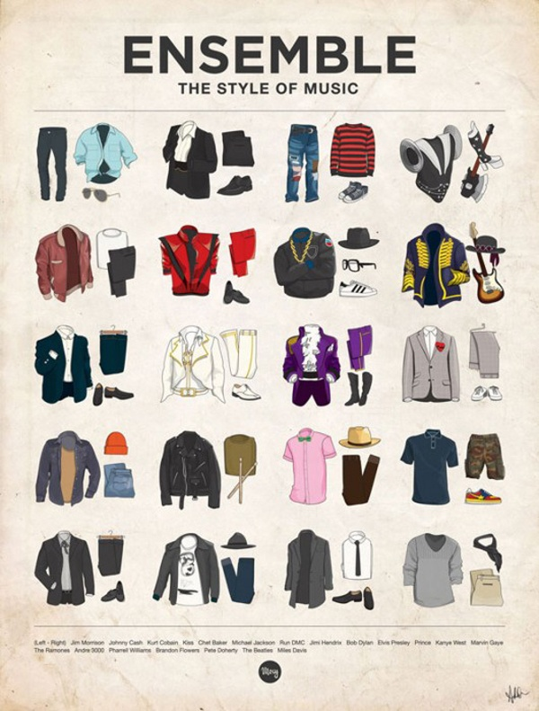Ensemble The Style of Music Top 10 Menswear Piccs