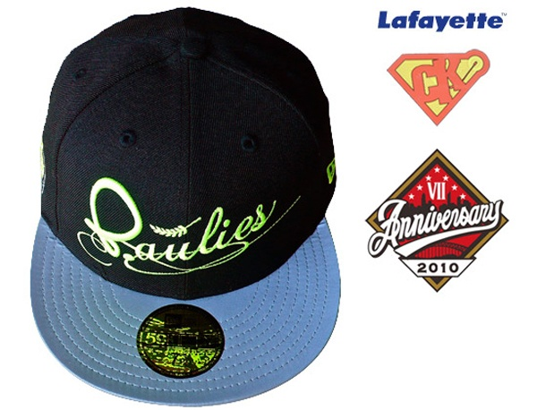 LAFAYETTE x DJ CLARK KENT x PAULIES x NEW ERA 59Fifty Fitted Baseball Cap Top 10 Fitted Hats