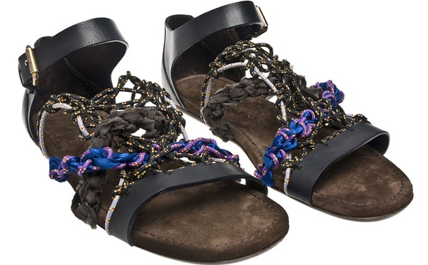 Lanvin Rope Sandal Top 10 Footwear