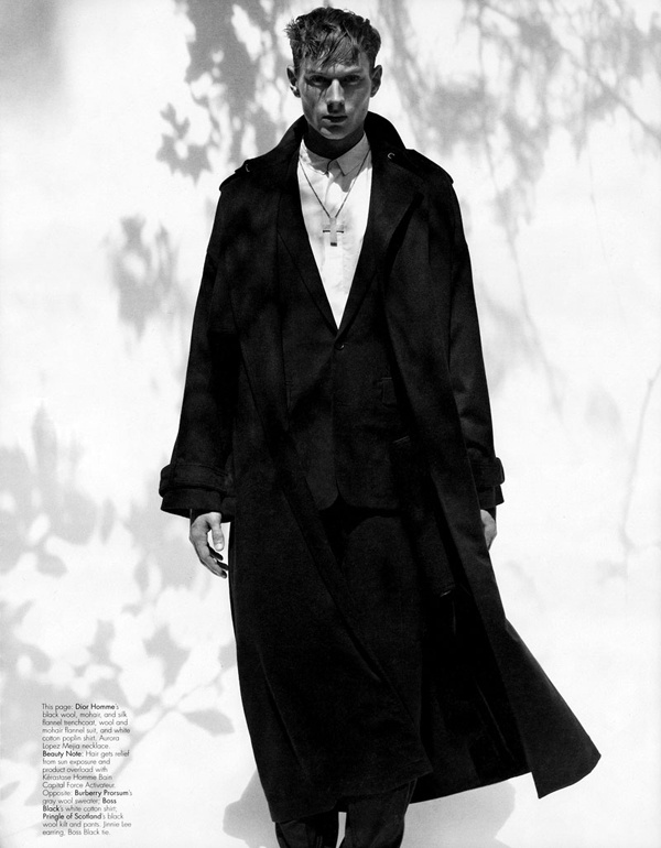 W MAGAZINE OCTOBER 2010 »HIS IS HERS« SHOT BY CRAIG MCDEAN STYLED BY ALEX WHITE  Top 10 Menswear Photography