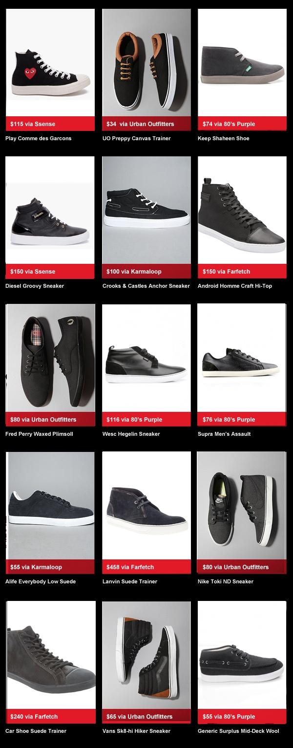 buyersguyedDARKSNEAKERS Buyers Guyed: Dark Sneakers