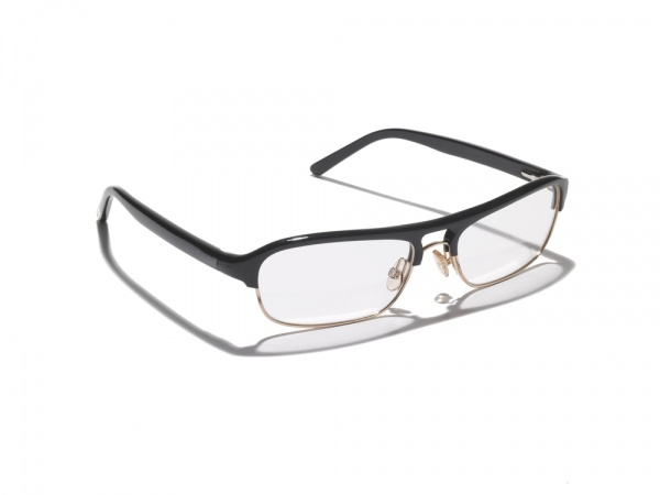 Mens Glasses Styles These half frames have a retro