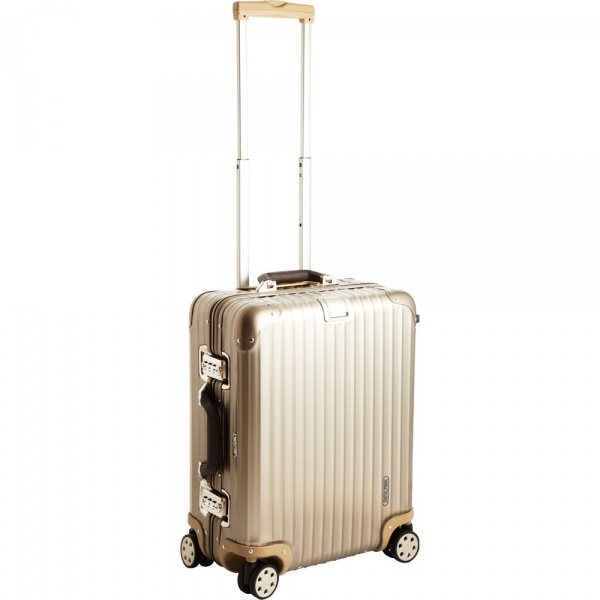 Rimowa Topas Titanium Multi Wheel Cabin Trolley 10 Stylish Pieces of Luggage