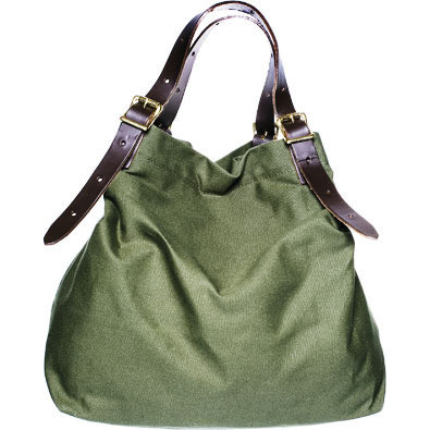duluth tote green side R 2 Review: Duluth Pack for Kaufmann Mercantile Canvas Tote