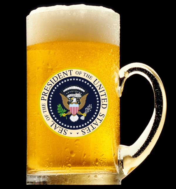 presidential beer 2 Drink like Commander In Chief: Presidential Libations