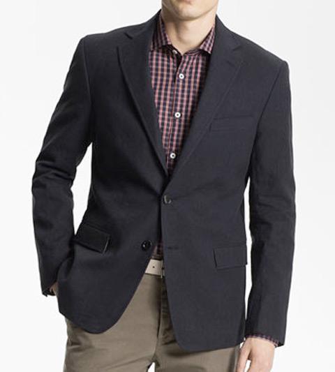 Billy-Reid-'Lexington'-Cotton-Linen-Blend-Blazer