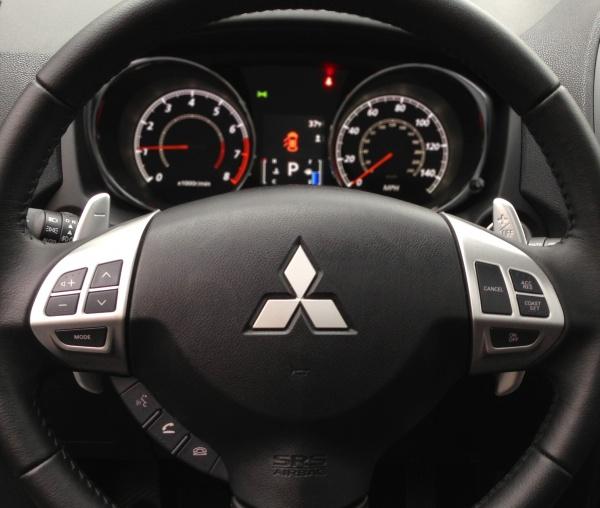 Outlander Dashboard2 Test Drive: 2013 Mitsubishi Outlander Sport