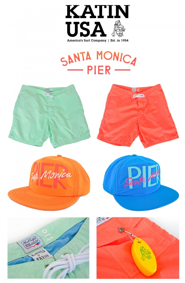 KATINUSA SantaMonicaPierShop KATIN USA x Santa Monica Pier Limited Edition Collection