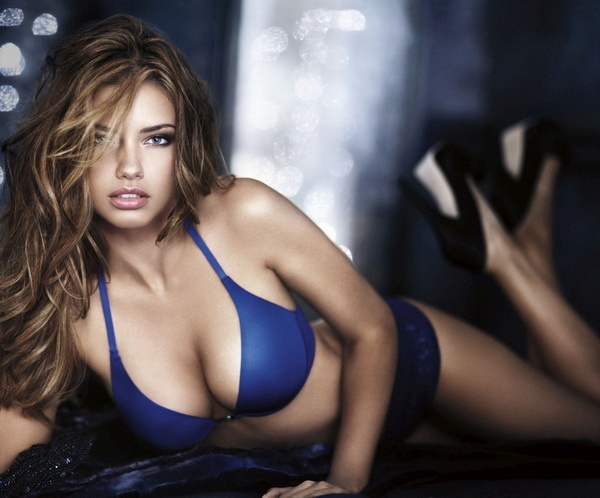 F40Adriana Lima lying down Forbes Lists 2013s Highest Paid Models