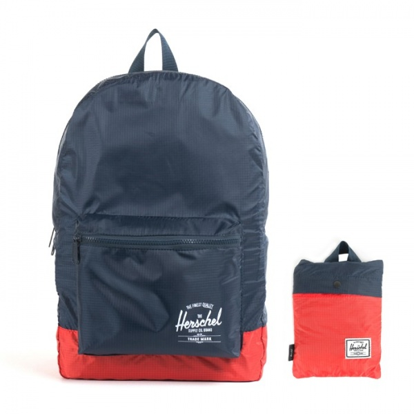 Herschel Packable Daypack Navy Red 1 zpsba7c3abf The Buy: Herschel Supply Co. Packable Day Pack