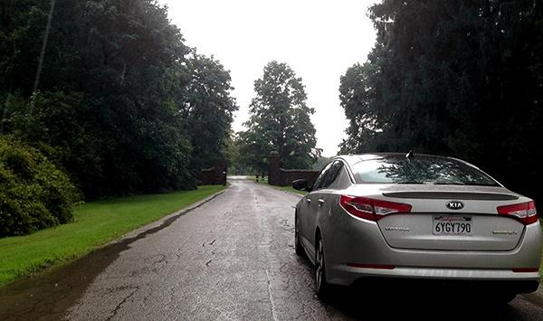 Kia Back Review: 2013 Kia Optima Hybrid