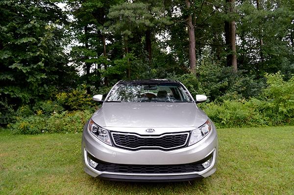 Kia Front Review: 2013 Kia Optima Hybrid