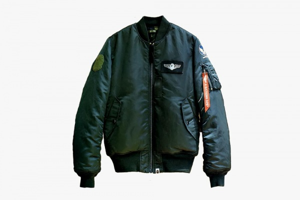 bape x alpha ma 1 tight fit 01 10 Jackets You Need To Own This Fall