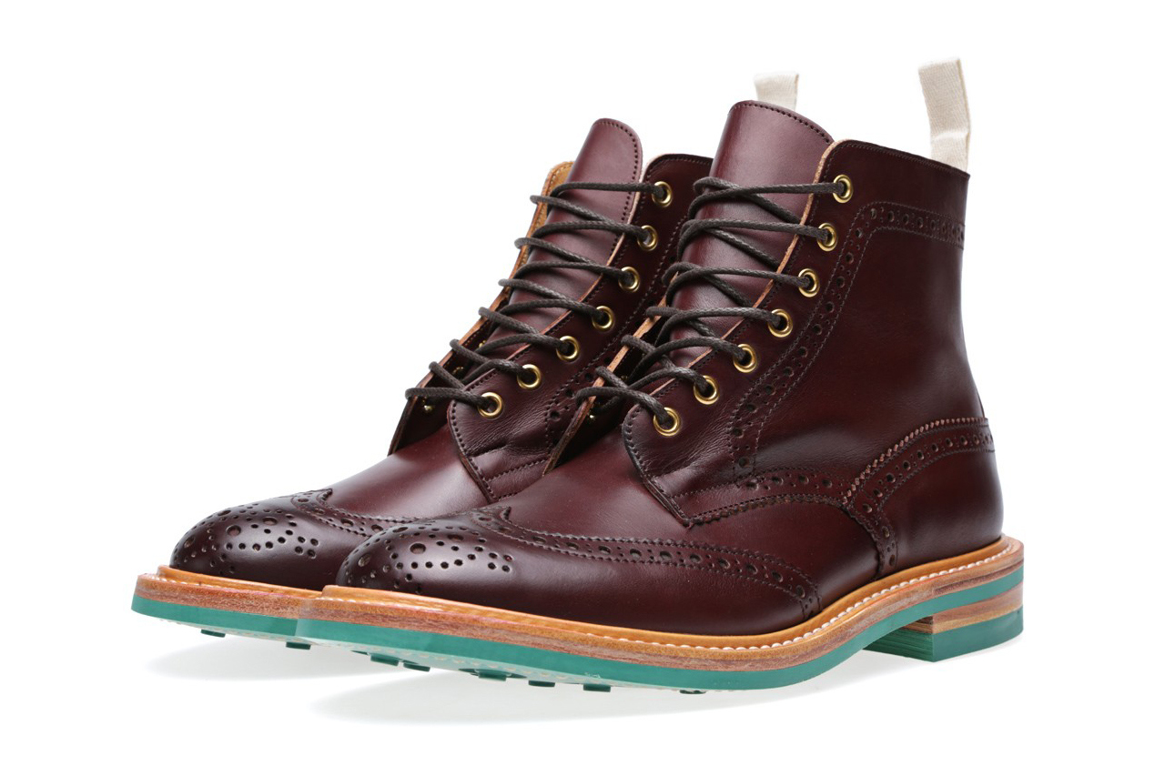 end x trickers 2013 fallwinter stow brogue boot 1 End. x Trickers Fall/Winter 2013 Colour Card Stow Brogue Boot