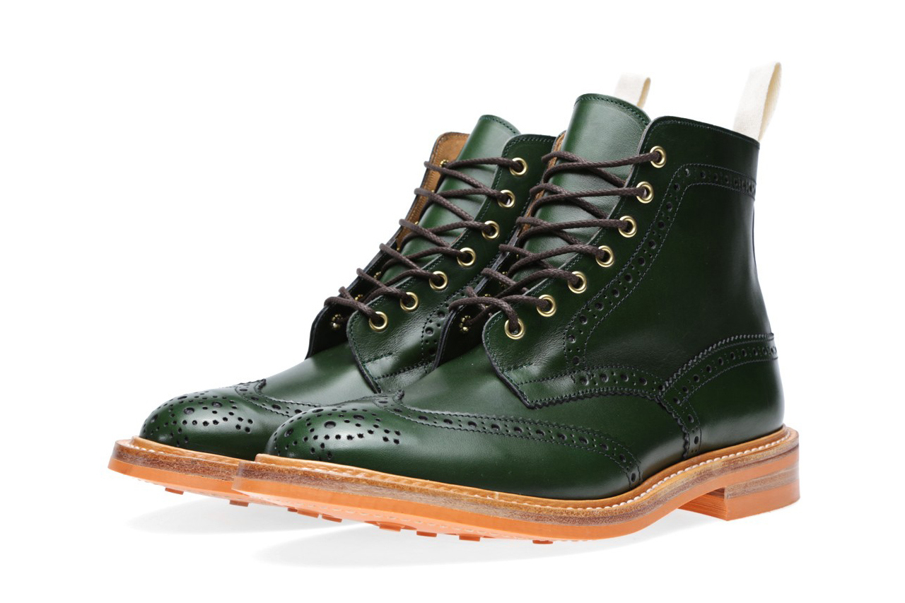 end x trickers 2013 fallwinter stow brogue boot 3 End. x Trickers Fall/Winter 2013 Colour Card Stow Brogue Boot