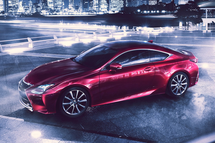 lexus rc coupe 2 Lexus Reveals New 2 Door RC Coupe