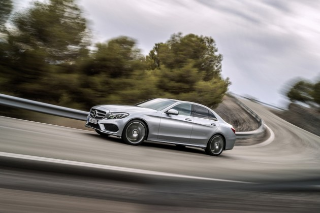 2015 Mercedes Benz C Class 0 630x420 Mercedes Benz Reveals New 2015 C Class Sedan