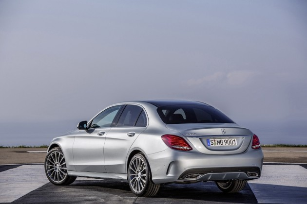2015 Mercedes Benz C Class 11 630x420 Mercedes Benz Reveals New 2015 C Class Sedan