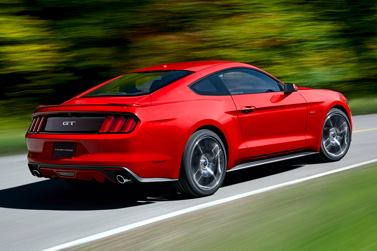 2015 ford mustang 3 Ford Reveal 6th Generation Mustang for 2015
