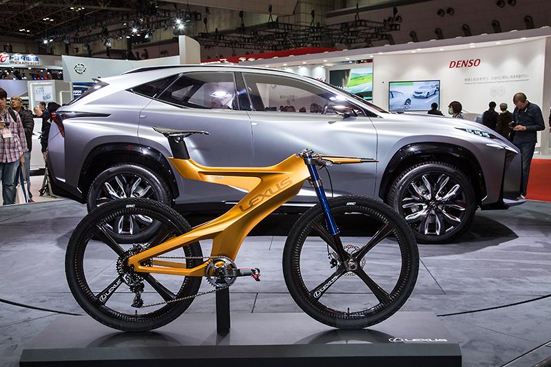 Lexus Reveals Neo Xtreme Bike Concept at Tokyo Motor Show