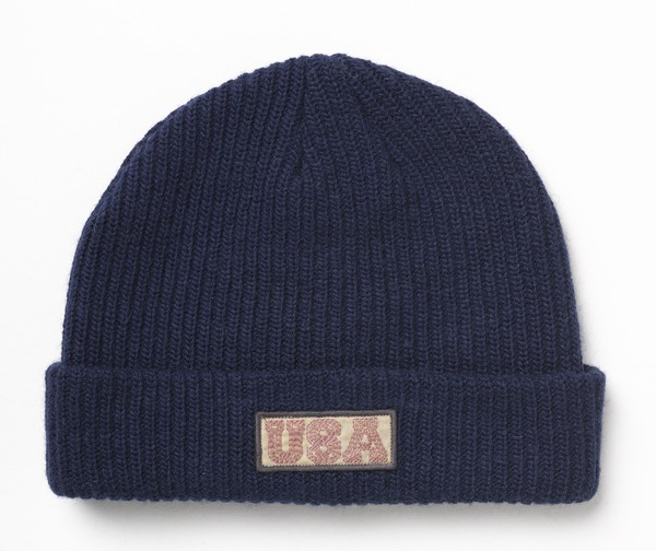 S Olympic Cuff Beanie Navy full Burton Debuts 2014 Olympic U.S. Snowboarding Team Uniforms