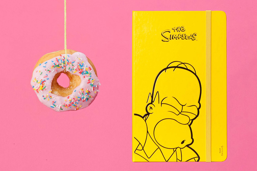 moleskine simpsons limited edition collection 01 The Simpsons x Moleskine Limited Edition Notebook Collection