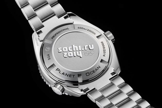 Omega Seamaster Sochi Olympics 03 630x420 Omega Seamaster Planet Ocean Sochi 2014 Olympic Edition Watch