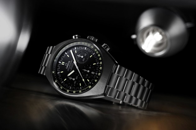 Omega Speedmaster baselworld 2014 01 630x420 Omega Reveals New Speedmaster Mark II Timepiece
