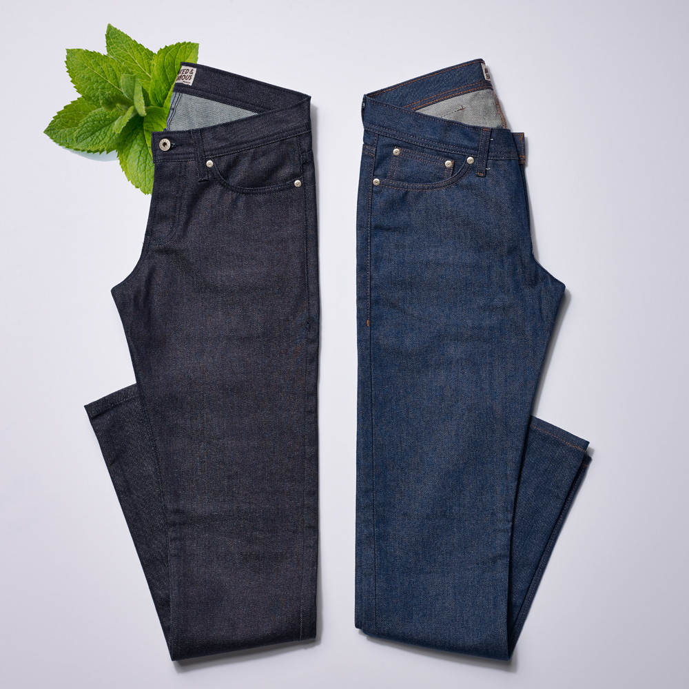 ap jeans sniff f Whats The Skinny On Naked & Famous Scratch and Sniff Jeans?