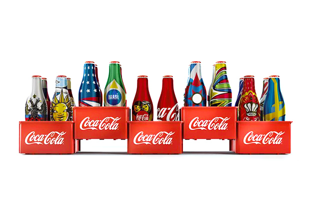 coca cola special edition world cup 2014 mini bottles 1 Coca Cola Releases Special Edition World Cup 2014 Mini Bottles