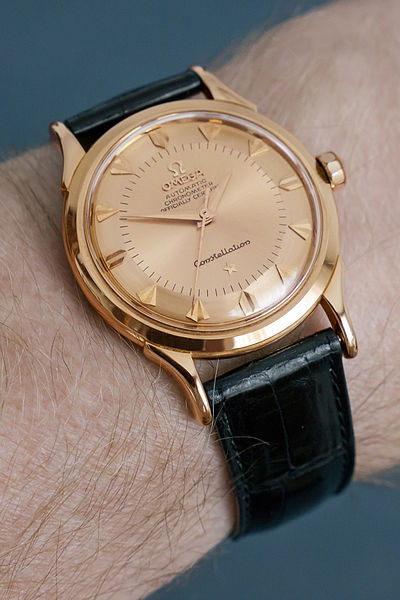 400px Omega Constellation Rotgold 1958 10 Things You Should Know About Omega Timpieces