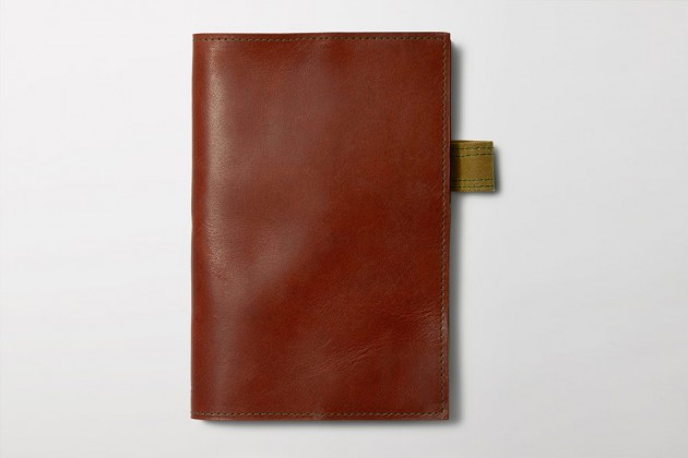 filson leather notebooks 01 630x420 Filson Horween Leather Notebook Covers