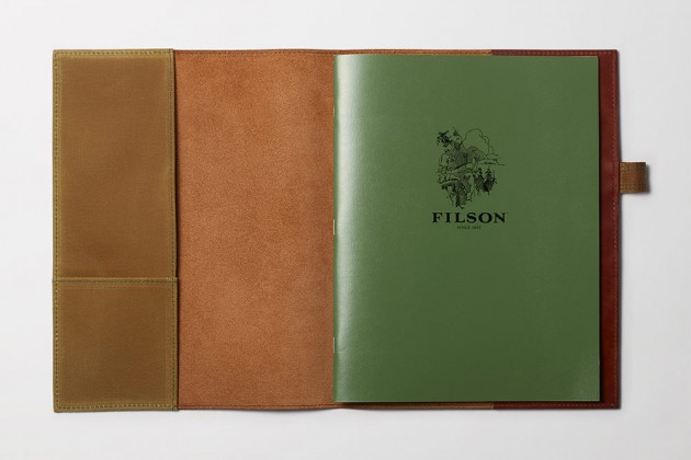 filson leather notebooks 04 630x420 Filson Horween Leather Notebook Covers