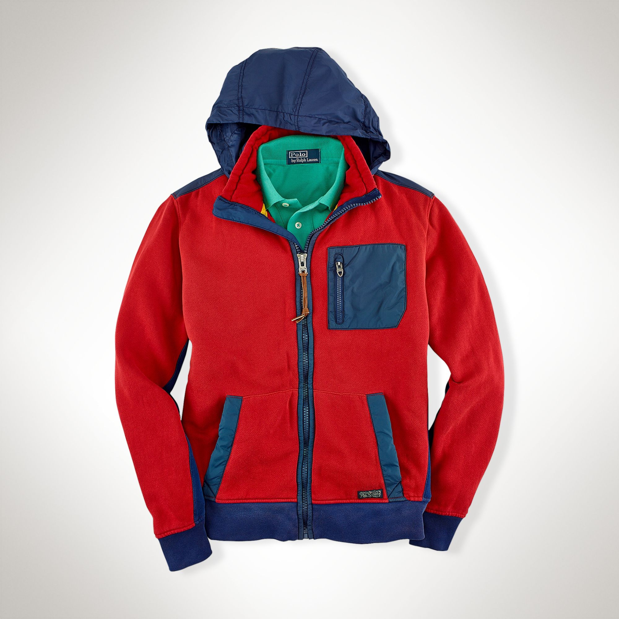 ralph lauren hooded coat polos menu