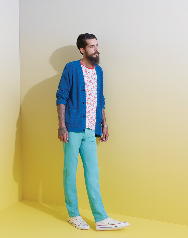 LMC mens looks four portrait Brighten Your Wardrobe Up With the Levis Made & Crafted Spring/Summer 2014 Collection