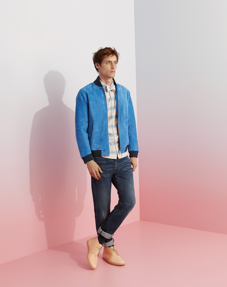 LMC mens looks one portrait Brighten Your Wardrobe Up With the Levis Made & Crafted Spring/Summer 2014 Collection