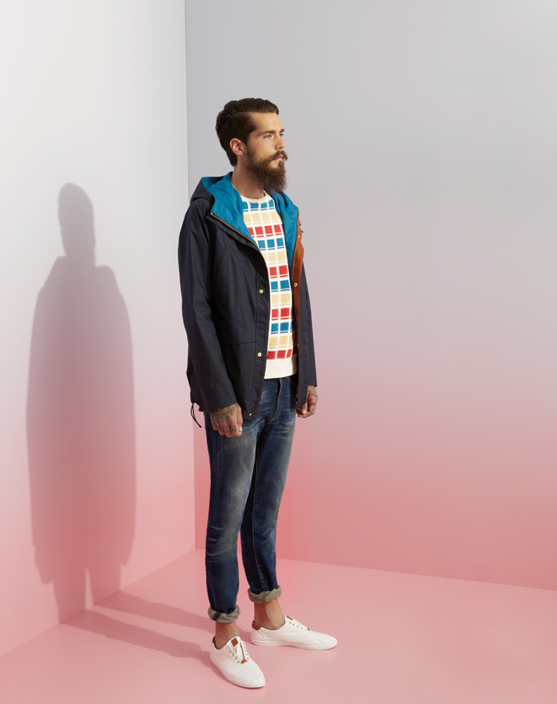 LMC mens looks two portrait Brighten Your Wardrobe Up With the Levis Made & Crafted Spring/Summer 2014 Collection