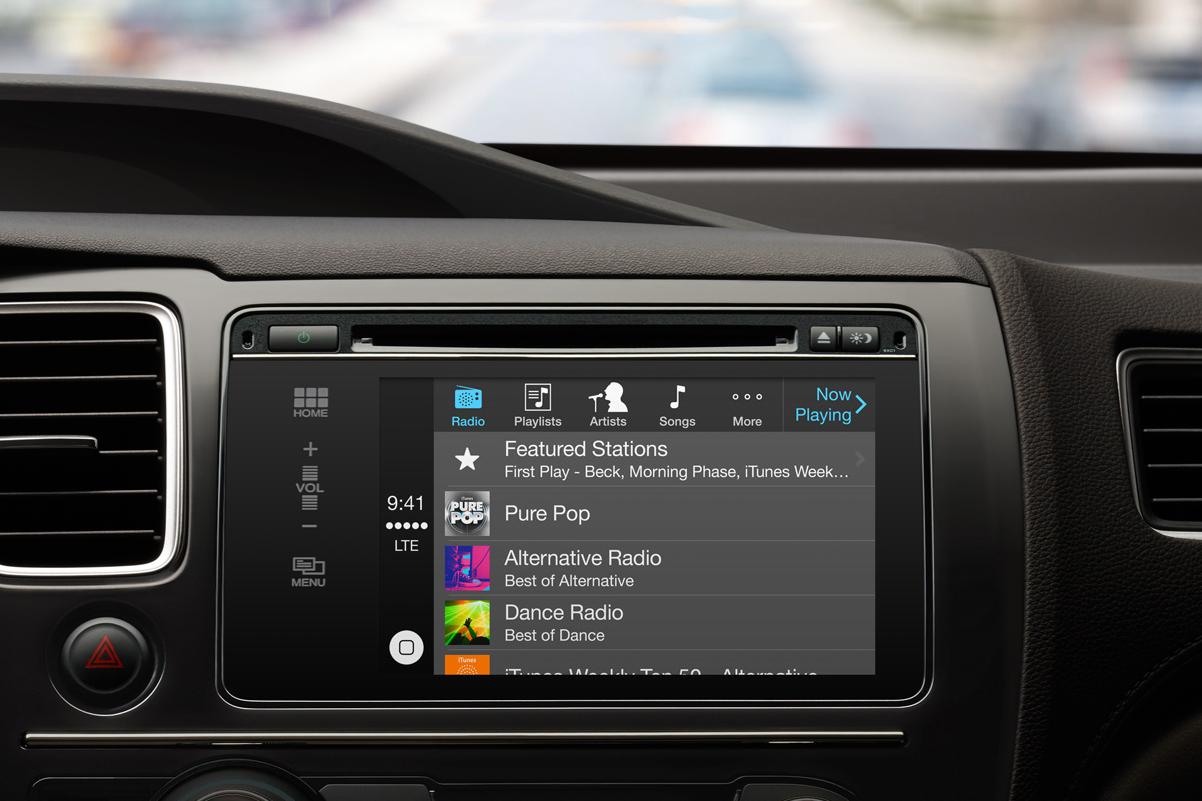 apple unveils carplay 1 Apple Unveils New CarPlay Entertainment Interface