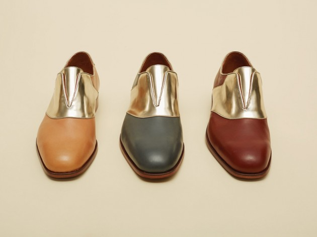 duckie brown shoes ss2014 03 630x472 Florsheim by Duckie Brown Spring/Summer 2014