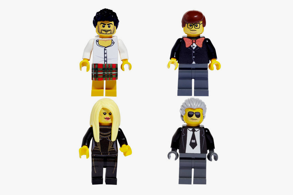 famous fashion figures reimagined as legos 01 Lego Creates Figures of Iconic Figures in Fashion