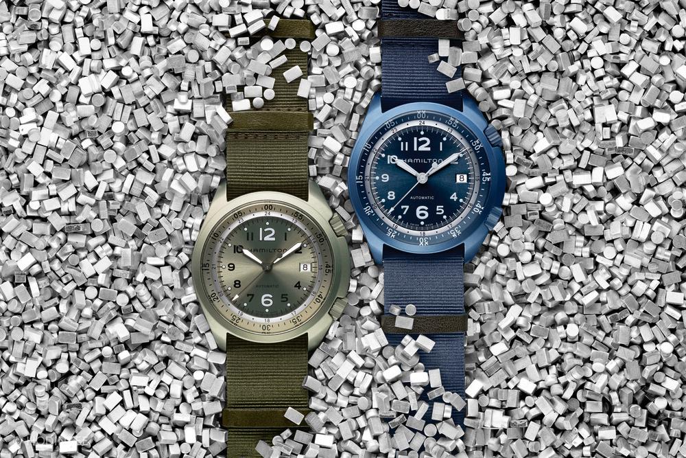 hamilton khaki pilot pioneer aluminum 1 Hamilton Watches Khaki Pilot Pioneer Alumium