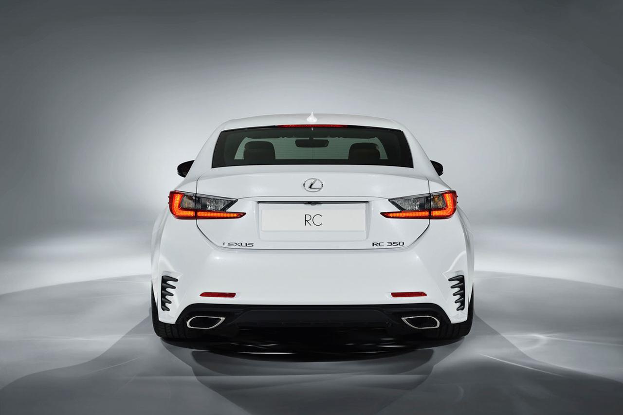 lexus rc 350 f 4 Lexus Unveils New RC 350 F SPORT